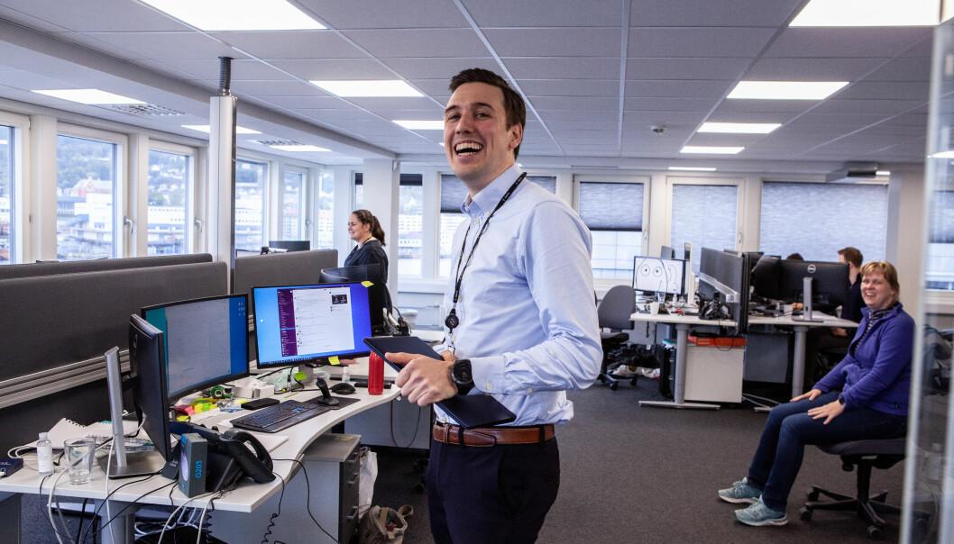 Med master i datavitenskap fra NTNU er daglig leder i ZData, Thor Kristian Seth, mer «tech» enn «fin».