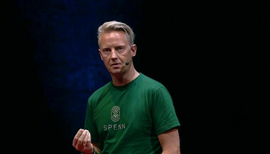 Gründer Jens Glasøs startup Spenn Technology har børsproblemer.