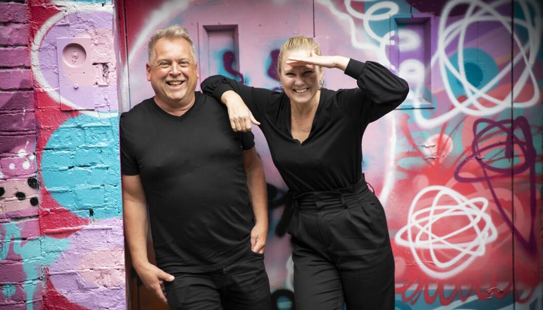 Kimberly Larsen og Lasse Andresen i IndyRIOT. Foto: Per-Ivar Nikolaisen