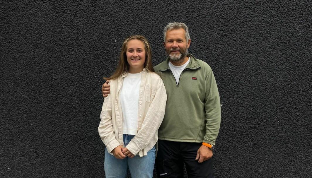 Eier Erik Hundven og daglig leder Ida Hundven i gründerselskapet Buoytech jobber med å utvikle en løsning som skal redusere spøkelsesfiske og tapt fiskeutsyr.