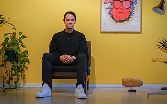 Lars Erik Oterhals bytter ut medier med kunst