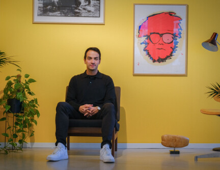 Bytter ut medier med kunst: Lars Erik Oterhals skal sikre vekst i Atelier